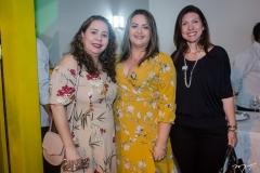Erika Galvão, Edimara Freitas e Carolina Torquato