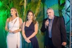 Silviane Andrade, Clarissa Leão e Gregstone Marques