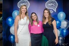 Silviane Andrade, Elaine Cristina e Clarissa Leão