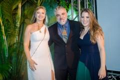 Silviane Andrade, Gregstone Marques e Clarissa Leão