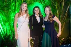 Silviane Andrade, Márcia Travessoni e Clarissa Leão