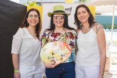 Aline Cardoso, Sellene Câmara e Elaine Moreira