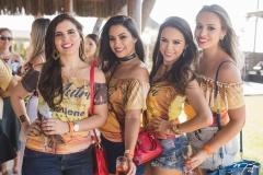 Amanda Bucar, Ticiane Pinheiro, Tatiara Monção e Flávia Castro