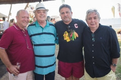 Benjamim Ferro, Dr. Benevides, Sílvio Otoch e Almiro Marinho