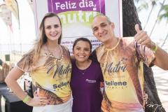Bruna Uliana, Edilene Fernandes e Yan Sales