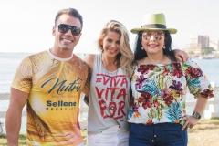 Daniel Coimbra, Karina Bacchi e Sellene Câmara