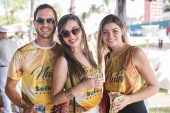 Daniel Gurgel, Monaliza Moreira e Natacha Camarão