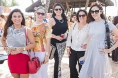 Fernanda Moreira, Rejane Macedo, Rebeca Pinheiro, Fabiana Araripe e Ana Flávia Junqueira