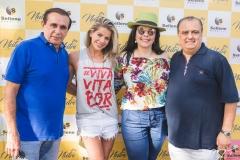 Gaudêncio Lucena, Karina Bacchi, Sellene e Max Câmara