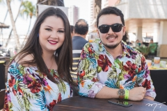 Lívia Régis e Eduardo Campos