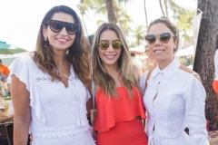 Márcia Travessoni, Nicole Benevides e Mirella Rocha