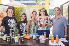 Márcia Santos, Nathalia Rocha, Sheila Cargilo, Sellene Câmara e Paula Ângelo