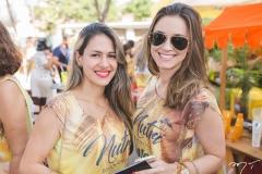 Mariana Fernandes e Priscila Fiuza