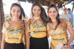 Marina Lima, Letícia Melo e Eudoxia Sousa