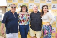 Max Câmara, Sellene Câmara, Almiro Marinho e Fabiana Lustosa
