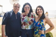 Max, Sellene e Marcela Câmara