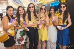 Mayra Targino, Ticiana Albuquerque, Roberta Freitas, Patricia Nogueira, Pabyle Flauzino e Marília Gonçalves