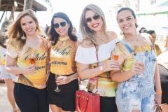 Michelle Amente, Rayssa Fortaleza, Fernanda Mourão e Monique Mendes