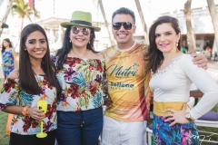 Priscila Azevedo, Sellene Câmara, Daniel Coimbra e Fabiana Lustosa