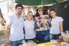 Ricardo Sampaio, Daiane Ribeiro, Sellene Câmara e Mariza Silva