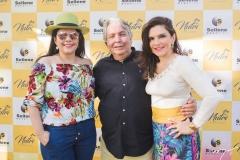 Sellene Câmara, Almiro Marinho e Fabiana Lustosa