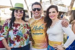 Sellene Câmara, Daniel Coimbra e Fabiana Lustosa