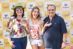 Sellene Câmara, Karina Bacchi e Max Câmara