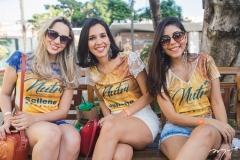 Zulene Maria, Luciana Loila e Lívia Nogueira