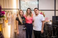 Raissa Rodrigues, Nathalia Ximenes e Felipe Torres