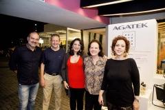 Bosco Couto, Joaquim Regaz, Nathatalia Canamary, Regina Regaz e Isabele Montenegro