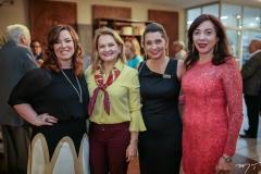 Aline Barroso, Lenise Rocha, Márcia Travessoni e Gina Pompeu