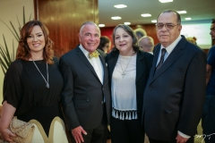 Aline, Parsifal, Glina e Régis Barroso