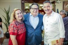 Neca e Antonio Filgueiras Lima e Artur Bruno