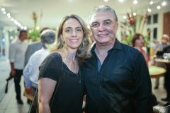Daniela Pompeu e Alfredo Cruz