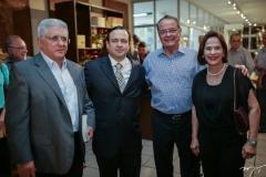 Deusmar Queirós, Igor Barroso, Walman e Cristina Miranda