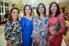 Fabiola Bezerra, Lara Vieira, Katherine Mihaliuc e Gina Pompeu
