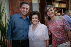 Fernando Novais, Constança Távora e Ana Virginia Furlani