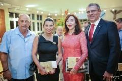 Fernando e Márcia Travessoni, Gina e Randal Pompeu