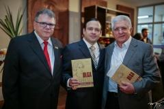 Juarez Leitão, Igor Barroso e Deusmar Queirós
