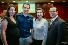 Lucia, Luis e Monalisa Gentil e Igor Barroso