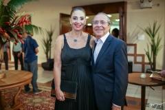 Magda Busgaib e Pedro Gomes de Matos