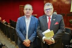 Manoel Linhares e Juarez Leitão