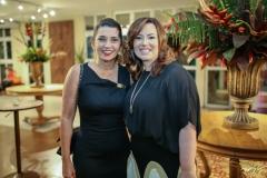 Márcia Travessoni e Aline Barroso