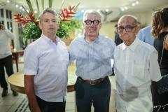 Paulo Rolim, Arnaldo Santos e Livreiro Gabriel