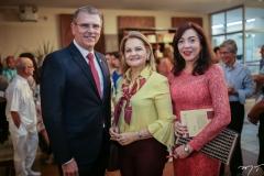 Randal Pompeu, Lenise Rocha e Gina Pompeu