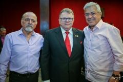 Reginaldo Vasconcelos, Juarez Leitão e Paulo Cesar Norões