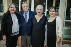 Glinda Barroso, Wellington e Carmélia Martins e Marcela Barroso