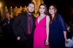 Artur Aguiar, Gemima e Raquel Barros