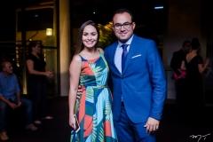 Carliane Mendes e Carlos Alberto