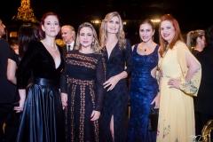 Debora Sombra, Georgia Philomeno, Laura Paivadina e Enid Câmara